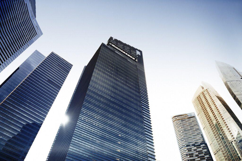 Arquitectura Edificio de oficinas Cityscape Personal Perspective Conc